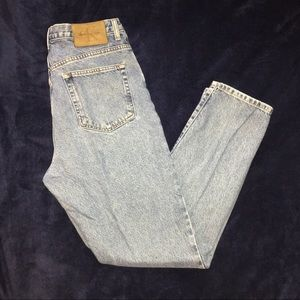 Vintage Calvin Klein high waisted mom jeans 1990s